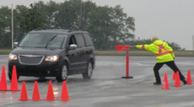 Skid Pad Driving